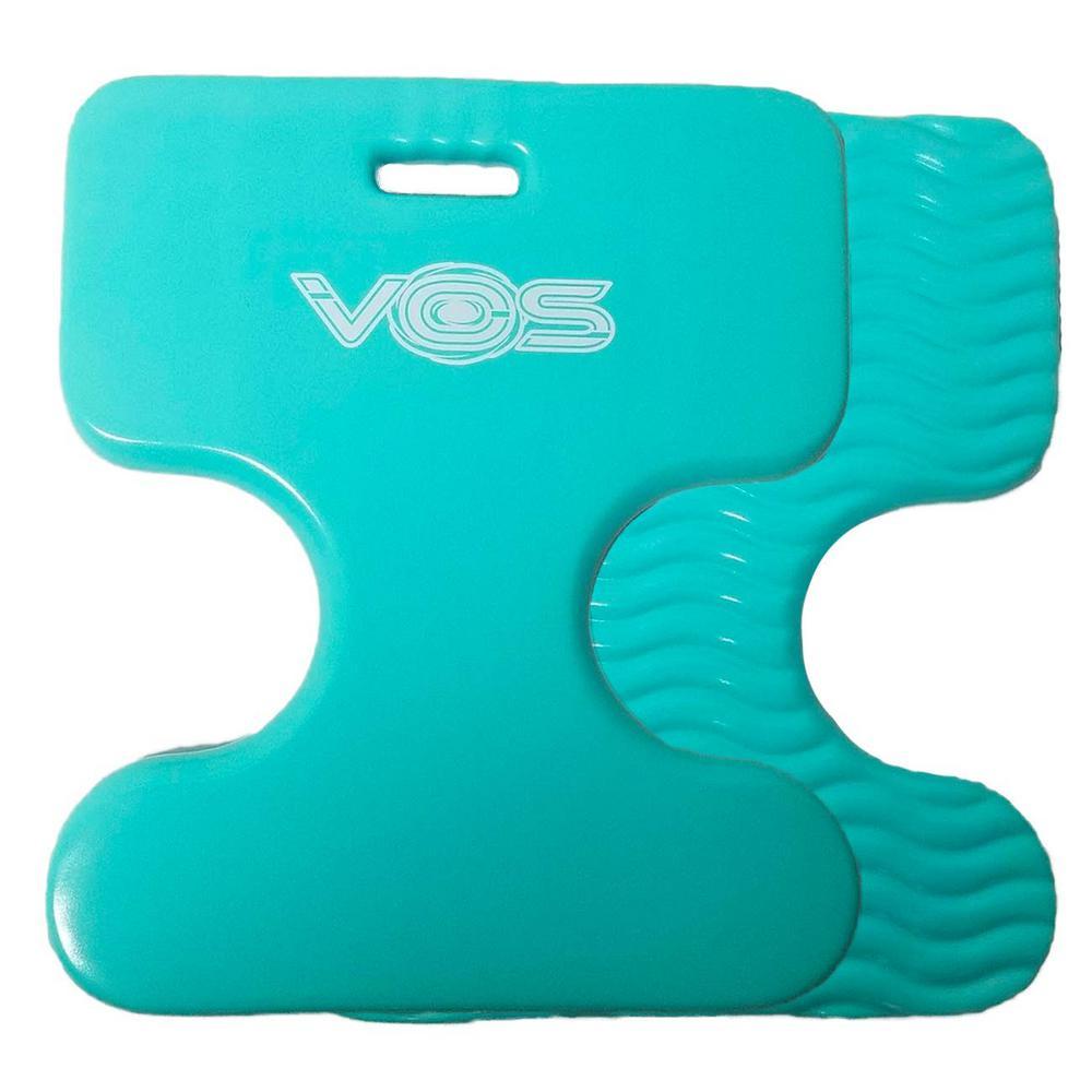 Vos Oasis Premium Water Saddle Floating Pool Toys Lake Summer Water Float Saddle 2 Pack (Seafoam)