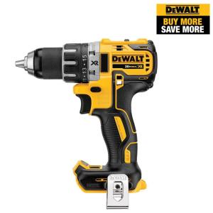 20-Volt MAX XR Lithium-Ion Brushless Cordless 1/2 in. Compact Drill/Driver (Tool-Only)