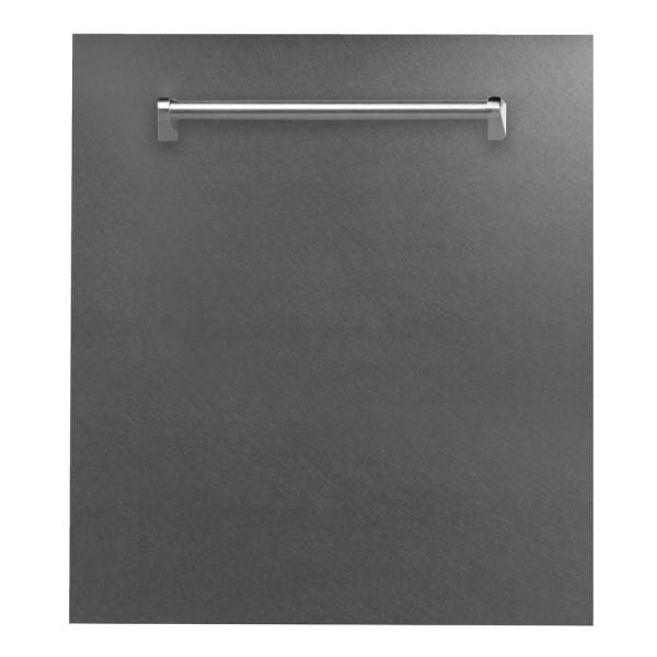 24 in. Top Control Dishwasher in DuraSnow Finished Stainless Steel with Stainless Steel Tub and Traditional Style Handle