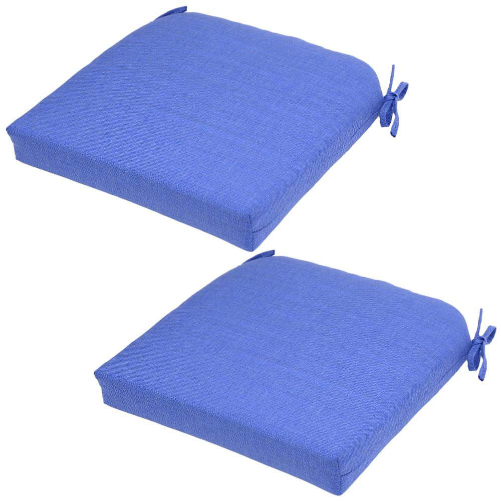 Periwinkle Outdoor Seat Cushion 2 Pack 8399 02241300