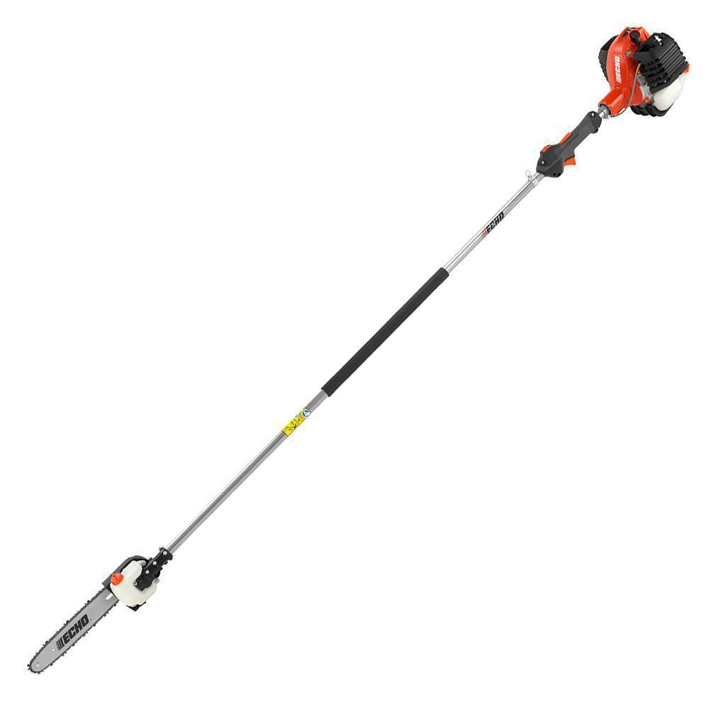 12 in. 25.4 cc Gas 2-Stroke Cycle Straight Shaft Power Pole Saw