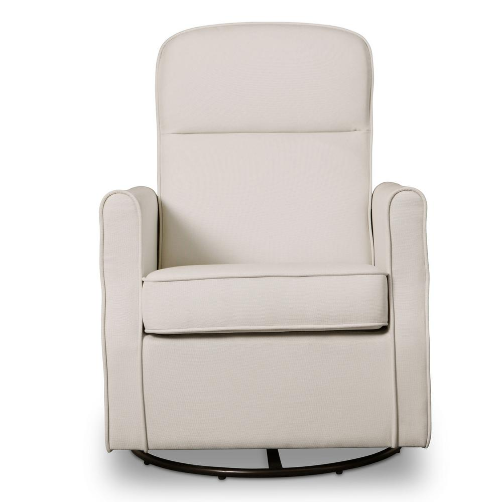 Delta Children Cream Blair Glider Swivel Rocker Chair, Ivory Delta Children Cream Blair Glider Swivel Rocker Chair, Ivory