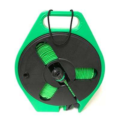 2 in. Dia x 40 ft. HydroHose on Reel in Green