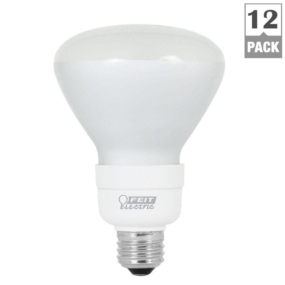 Feit Electric 65-Watt Equivalent Soft White BR30 Flood CFL Light Bulb (12-Pack)