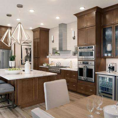 Transitional Custom Kitchen Cabinets available in hundreds of door style and finish combinations