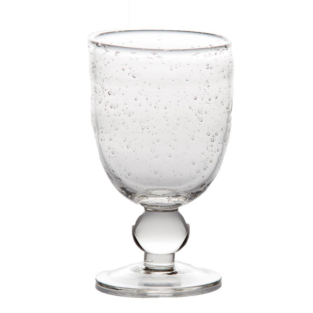 St. Remy 2.75 in. D x 5 in. H Bubble Wine Glass (Set of 4)