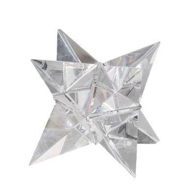 5 in. Crystal Star Ornament Clear