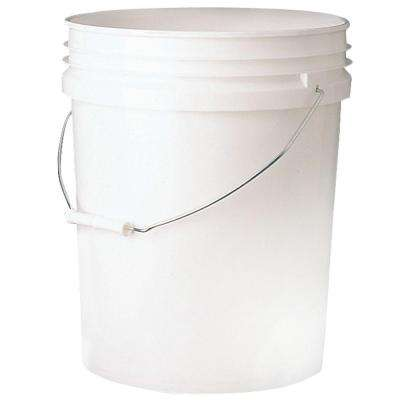 5 Gal. White Bucket (10-Pack)