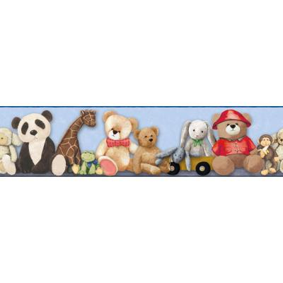 Brothers and Sisters V My Favorite Teddy Wallpaper Border