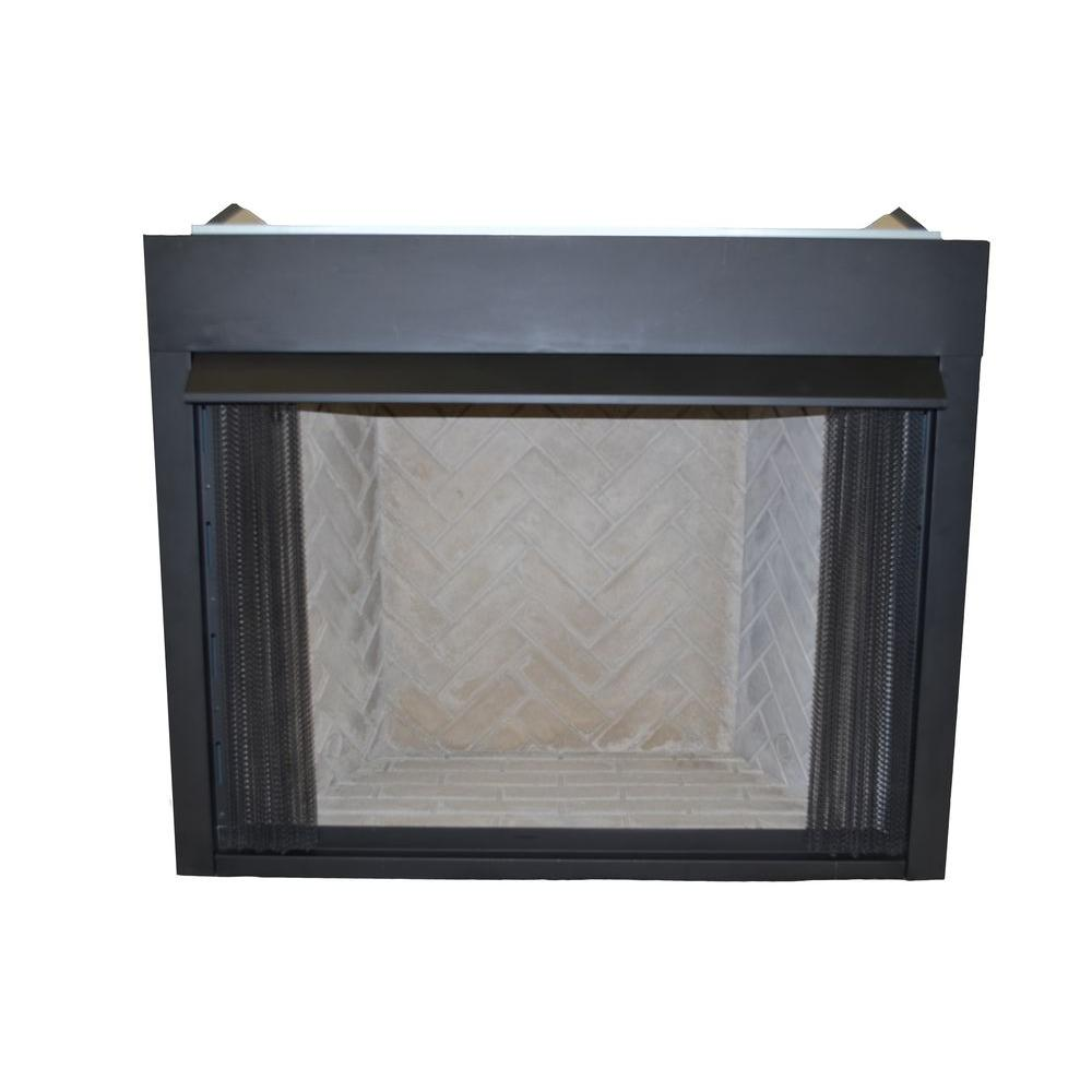 Natural Gas Fireplace Insert Fans Home Depot