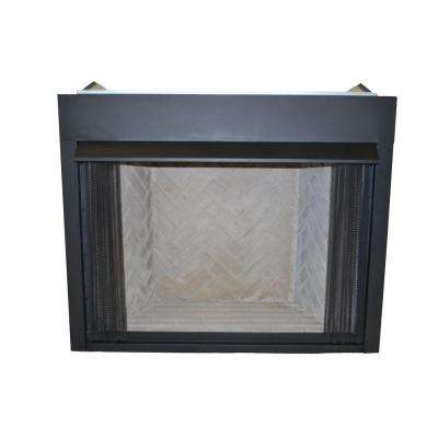 36 in. Vent-Free Natural Gas or Liquid Propane Low Profile Firebox Insert