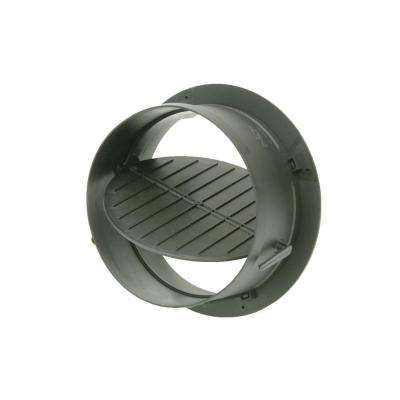 6 in. Take Off Start Collar with Damper for HVAC Duct Work Connections