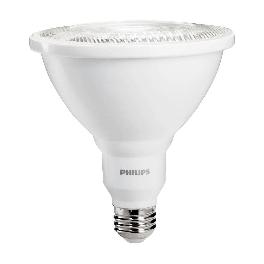 Philips 100W Equivalent Bright White Indoor/Outdoor Dimmable PAR38 Ambient LED Flood Light