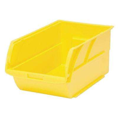 7.87 in. Stackable Storage Bin, Yellow