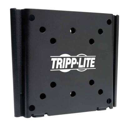 Fixed Wall Mount for 13 in. to 27 in. TVs and Monitors, Black