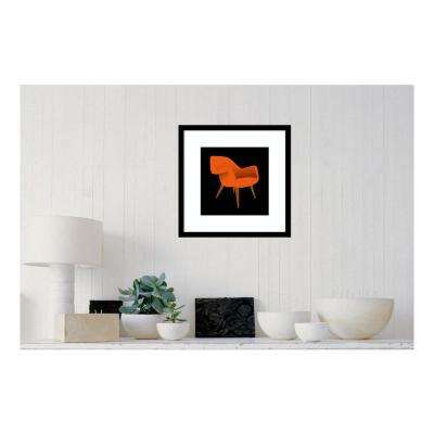19.38 in. W x 19.38 in. H Mid Century Chair II by PI Studio Printed Framed Wall Art