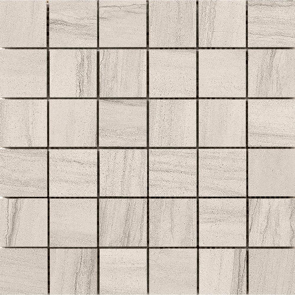 Emser Sandstorm Kalahari 13.07 in. x 13.07 in. x 9mm Porcelain Mesh-Mounted Mosaic Tile (1.19 sq. ft.)
