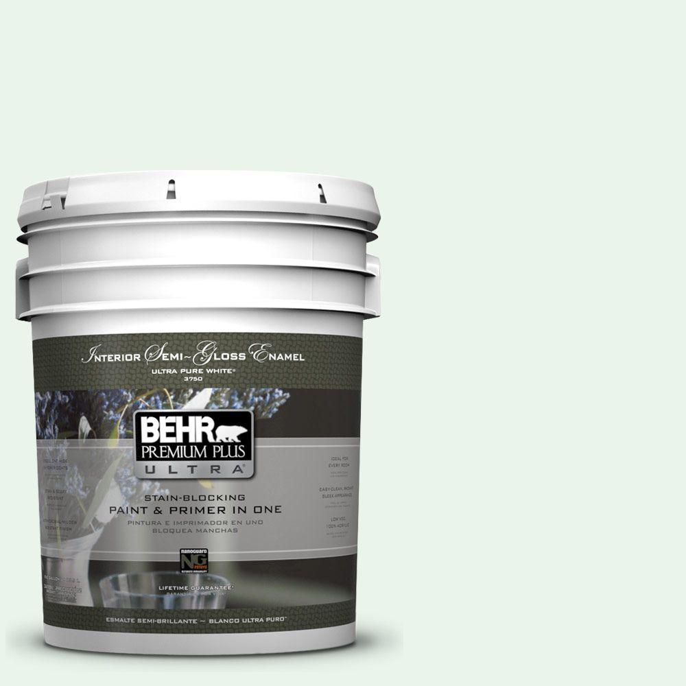 5 gal. #460A-1 Bubble Semi-Gloss Enamel Interior Paint and Primer in
