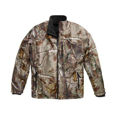 X4 Men's Large Camo Lithium-Ion Heated Jacket