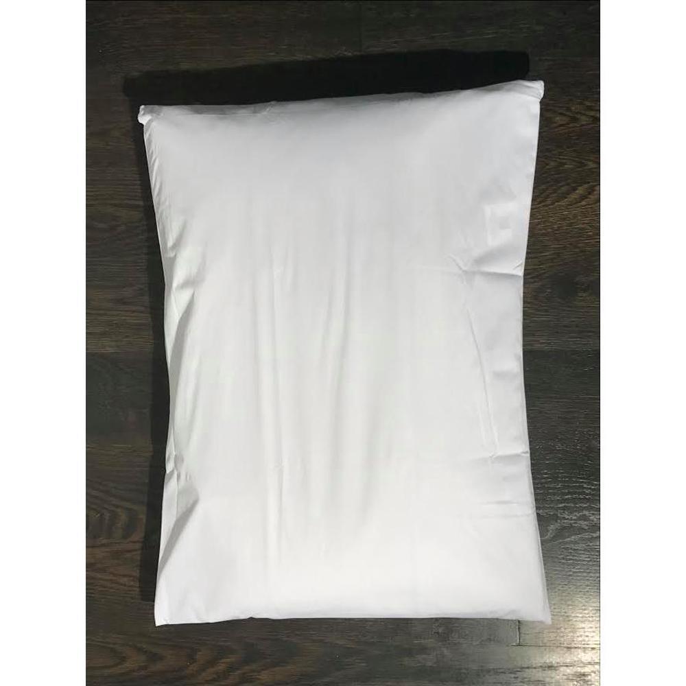 Waterproof, Dust Mite, Lice and Allergen Proof Pillow Encasement Luxurious Bed Bug Pillow Cover in Queen (2-Pack)