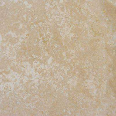 Tuscany Beige 18 in. x 18 in. Honed Travertine Floor and Wall Tile