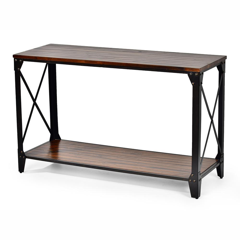 Winston Cherry Rustic Sofa Table