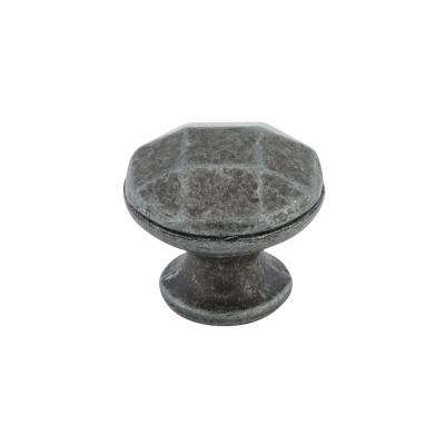 1-3/16 in. Antique Iron Cabinet Knob
