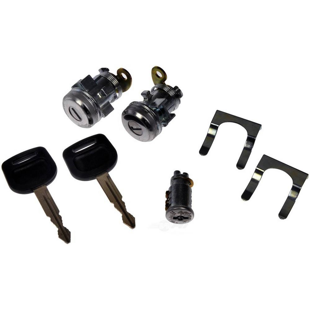 Hd Solutions Ignition And Door Lock Cylinder Kit 924 5220 The Home Depot