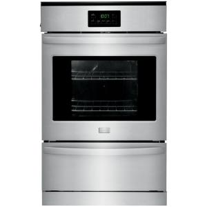 Frigidaire 24 inch Single Gas Wall Oven in Stainless Steel by Frigidaire