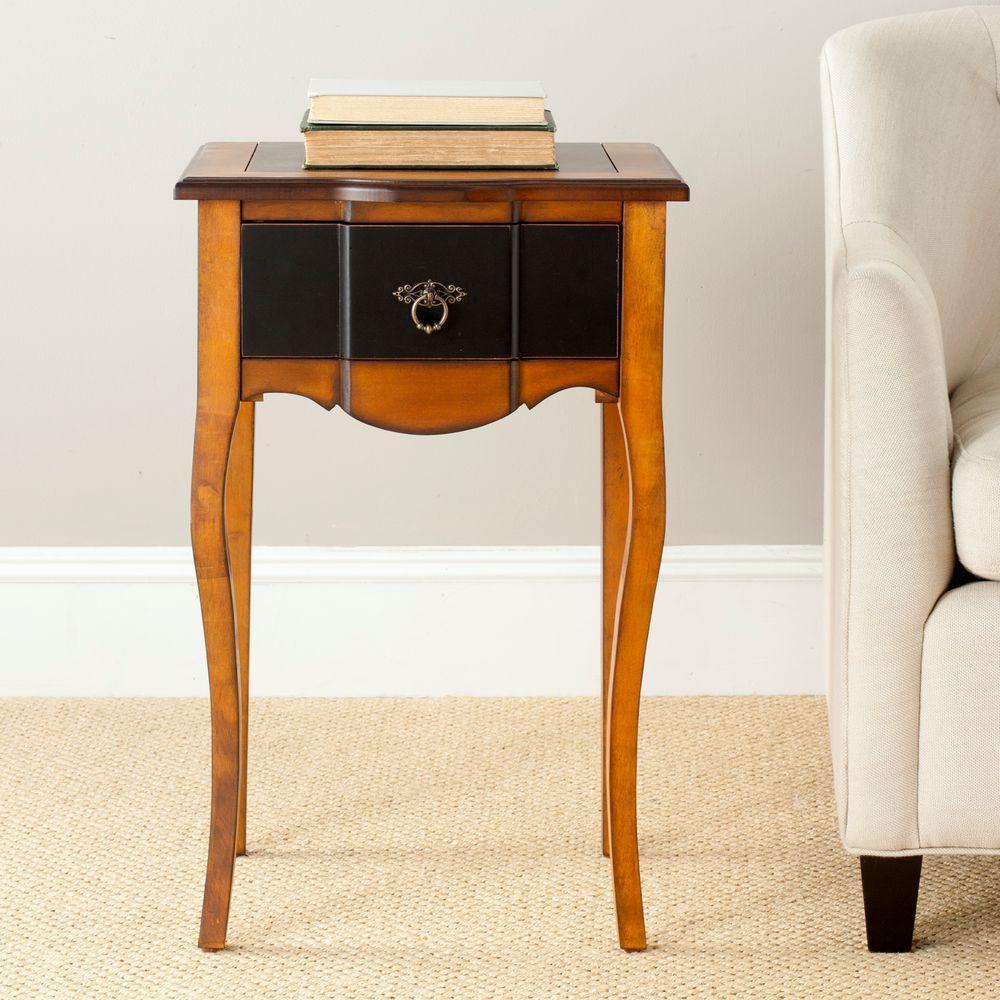 Sanda Honey Oak Storage Side Table