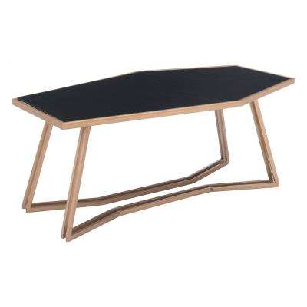 Geo Black Coffee Table