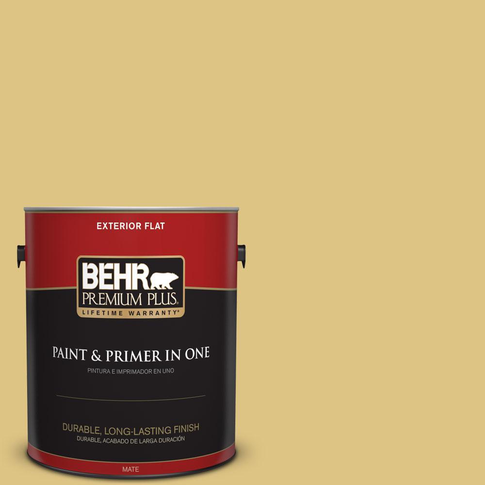 1-gal. #390D-5 Sea Kelp Flat Exterior Paint