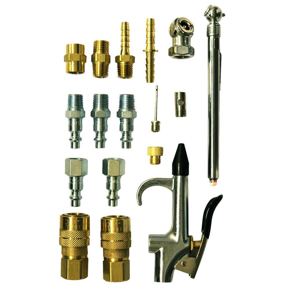 M Style Compressor Starter Kit (16-Piece)