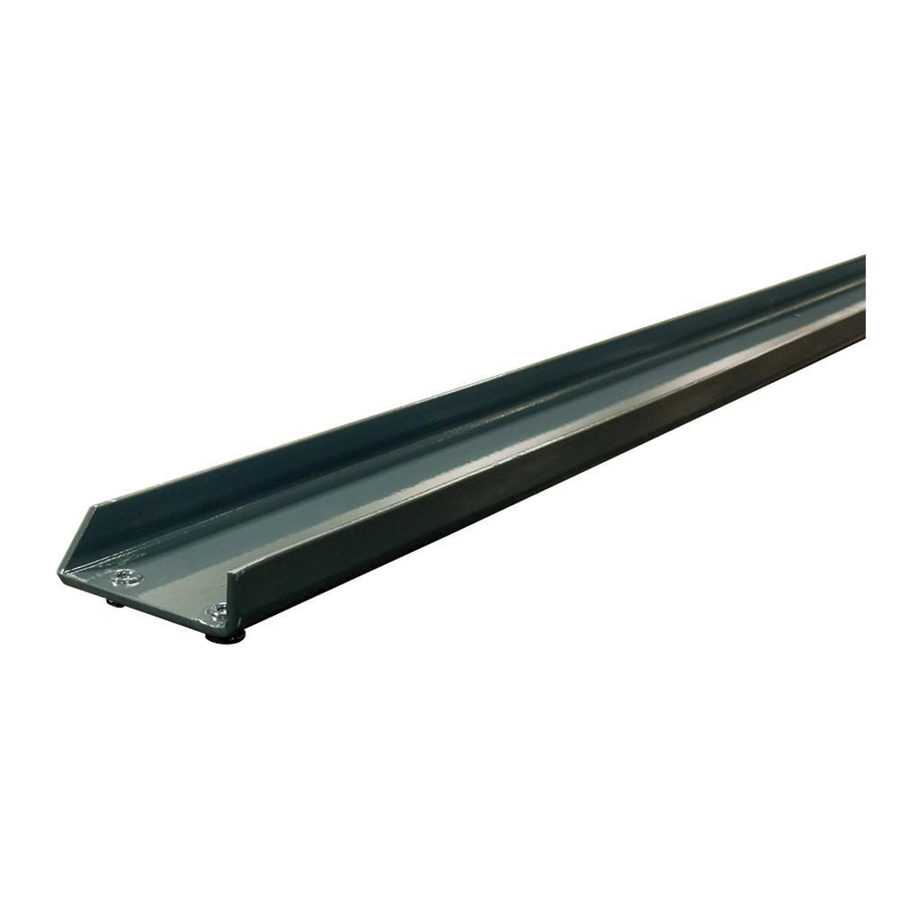 96 in. L Individual Gray Steel Heavy Duty Double Rivet Channel Beam