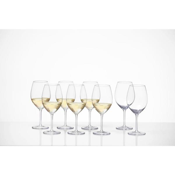 19.8 oz. Tritan Cru Classic Full White Wine Glass (Promo 8-Pack)