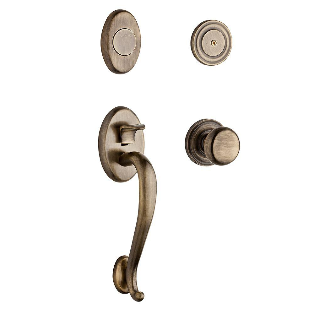 Logan Satin Nickel Dummy Handleset
