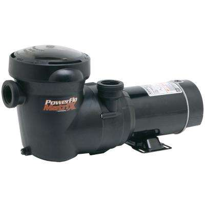 PowerFlo Matrix 1.5 HP Single Speed Pool Pump