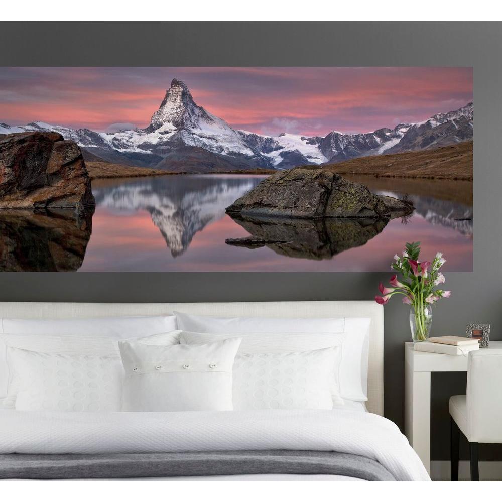 Komar 87 in. x 145 in. Matterhorn Wall Mural