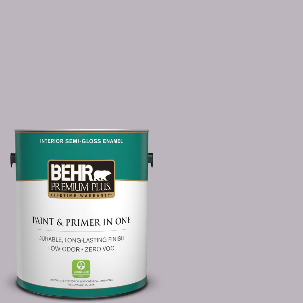 1-gal. #N100-3 Future Vision Semi-Gloss Enamel Interior Paint