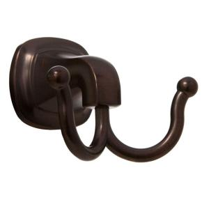 ARISTA Belding Collection Double Robe Hook in Oil Rubbed Bronze by ARISTA
