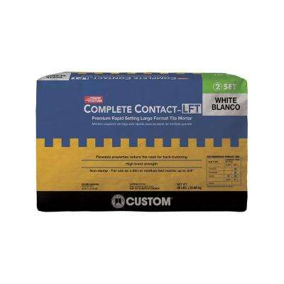 Complete Contact White 50 lb. Large Format Rapid Setting Tile Mortar