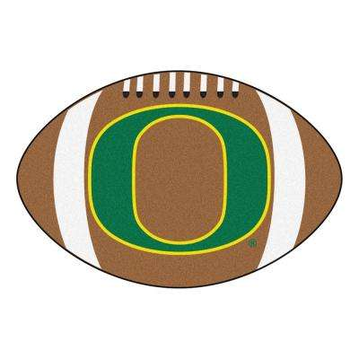 NCAA University of Oregon Brown 2 ft. x 3 ft. Specialty Area Rug