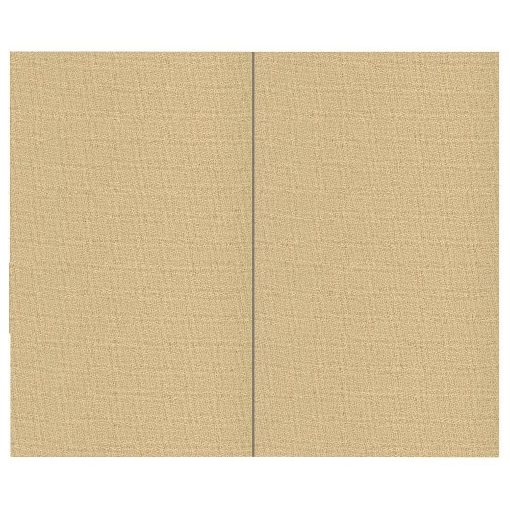 44 sq. ft. Vanilla Fabric Covered Top Kit Wall Panel