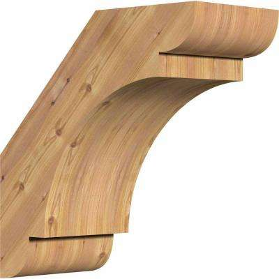 5.5 in. x 12 in. x 12 in. Western Red Cedar Olympic Smooth Brace
