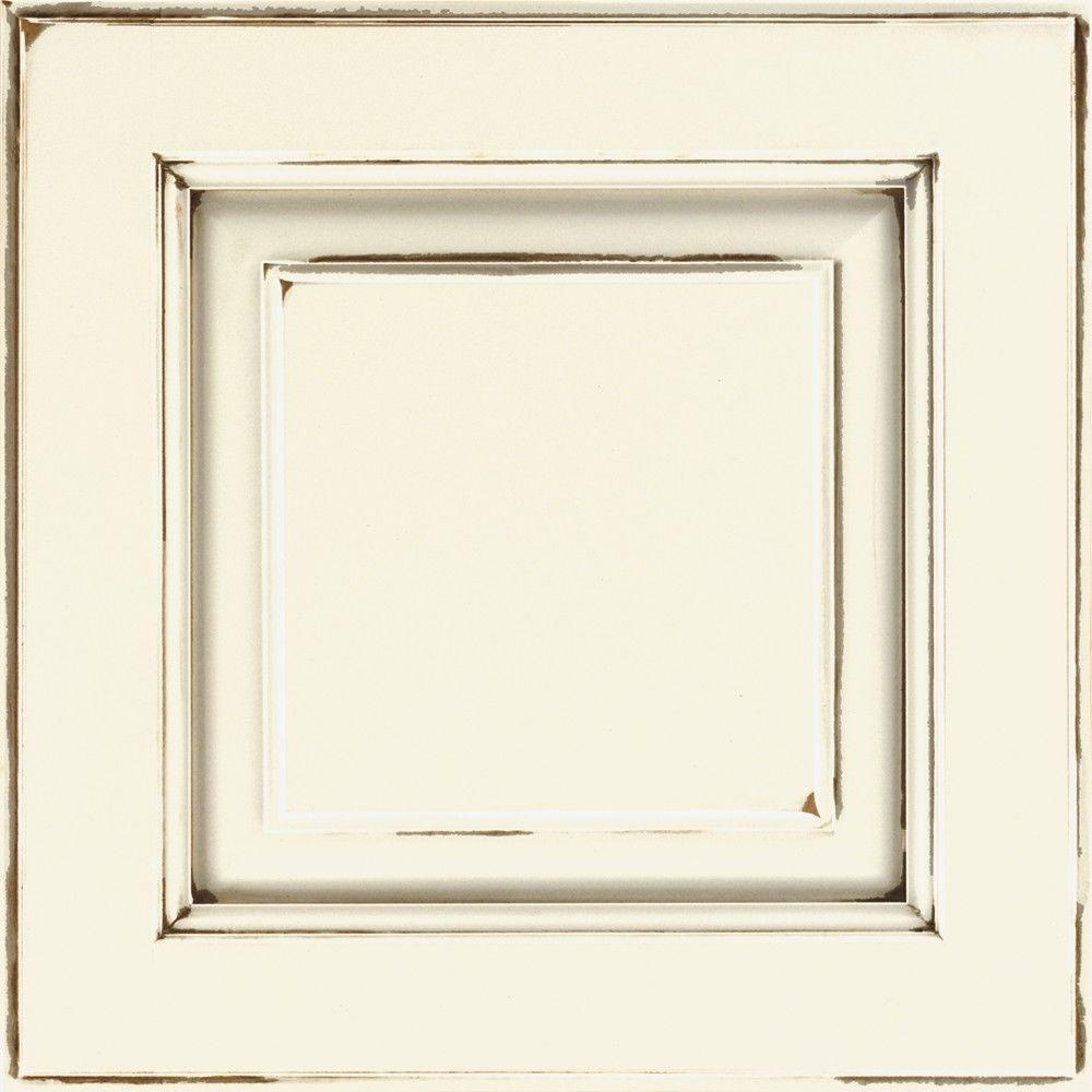 Thomasville Classic 14 5x14 5 In Cabinet Door Sample In Plaza Maple Cotton With Toasted Almond