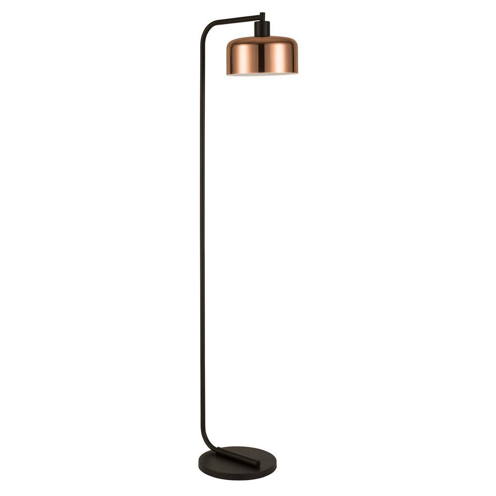 Cadmus 57 in. Copper Floor Lamp