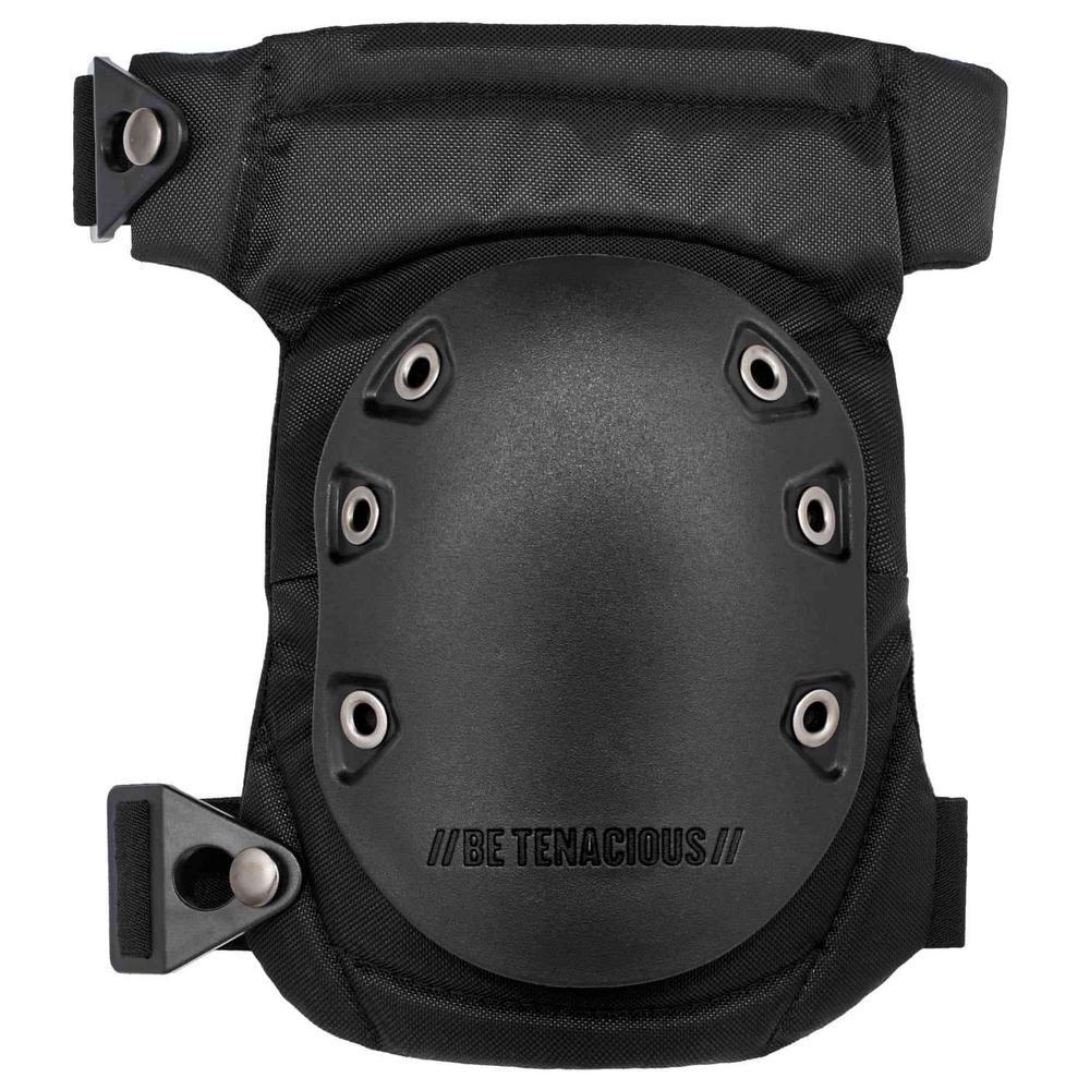 ProFlex Comfort Hinged Hard Cap Gel Knee Pads with Buckles