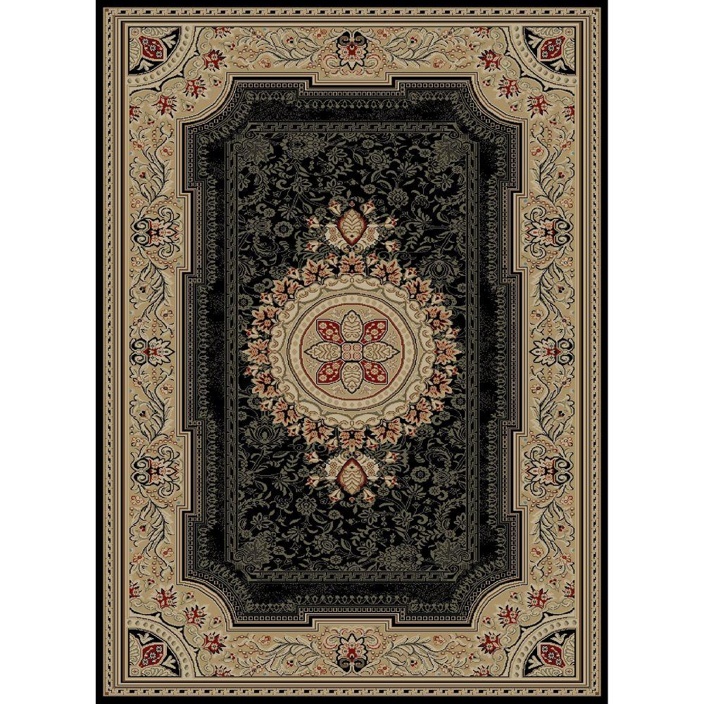 Ankara Chateau Black 6 ft. 7 in. x 9 ft. 6