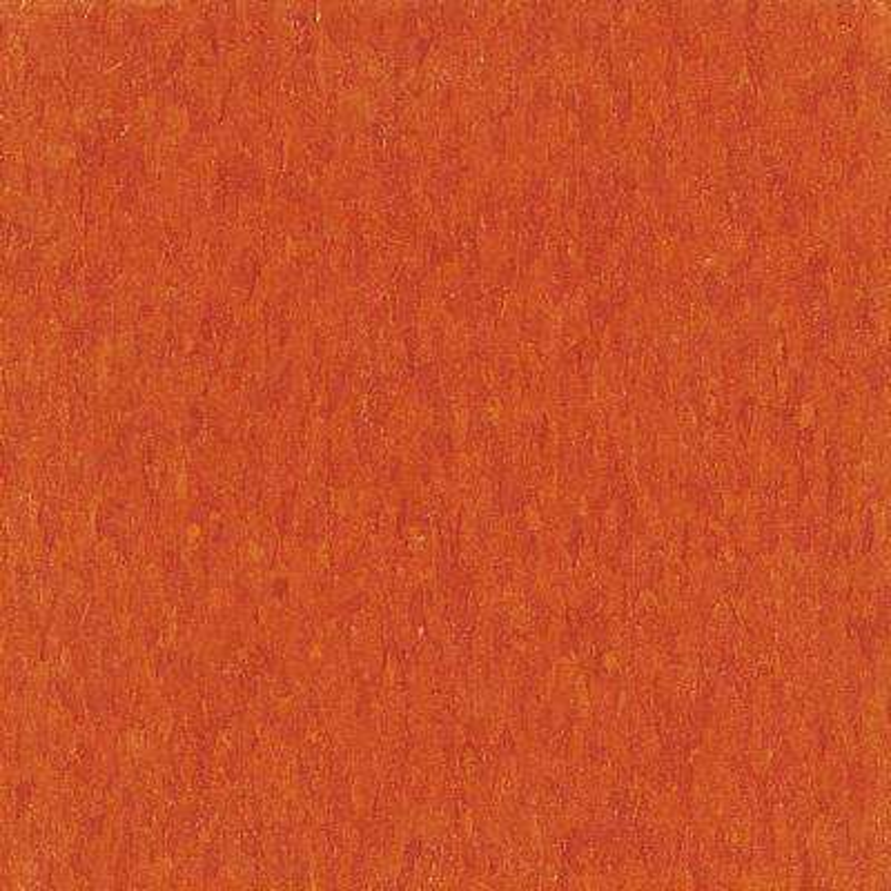 Take Home Sample - Imperial Texture VCT Pumpkin Orange Standard Excelon Commercial Vinyl Tile - 6 in. x 6 in.