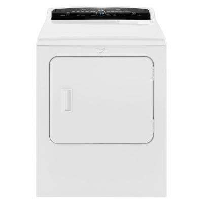 7.0 cu. ft. 120-Volt High-Efficiency White Gas Vented Dryer with Advanced Moisture Sensing and Intuitive Touch Controls
